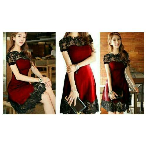Molly dress red