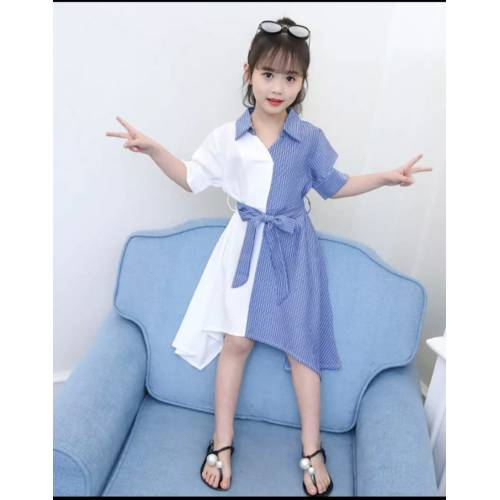 Dress kids vinie blue..
