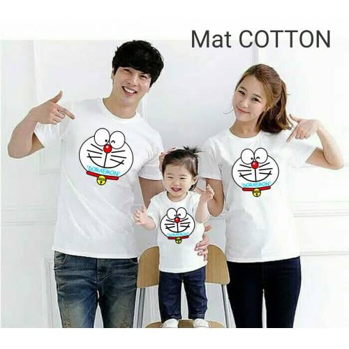 Cp Family Doraemon Putih