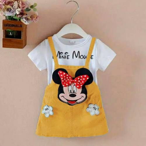 JS MINIE MOUSE HAND GOLD