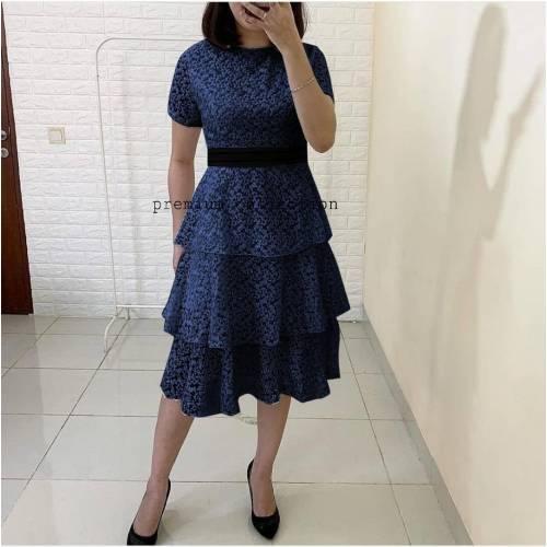 Alda dress NAVY
