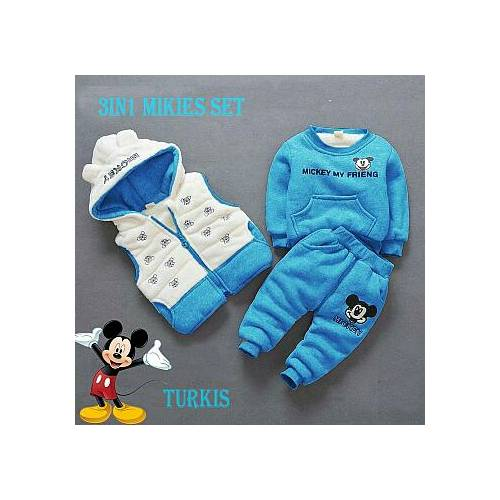 3in mikies set blue