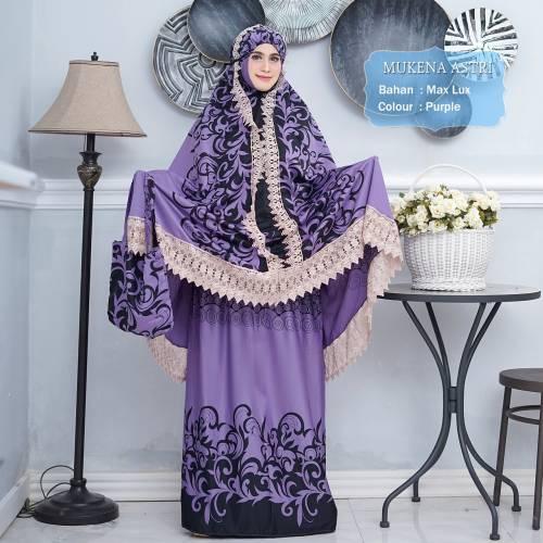 Mukena Asri Purple