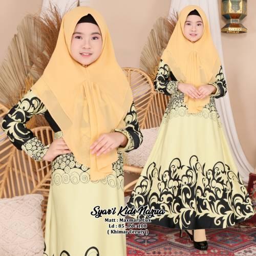Syari Kids Nazua Yellow