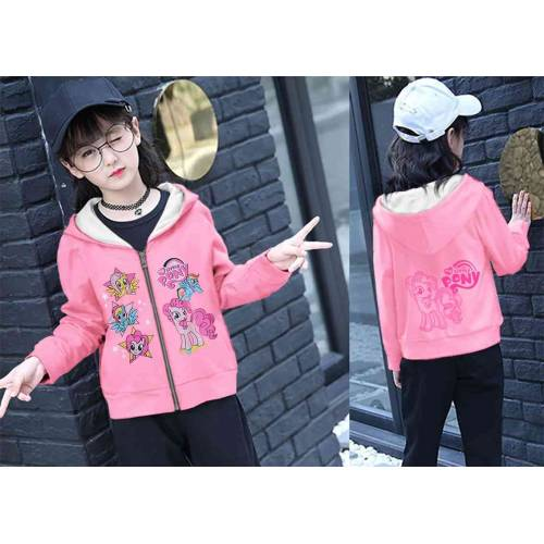 Jaket Kid Little Pony Pink