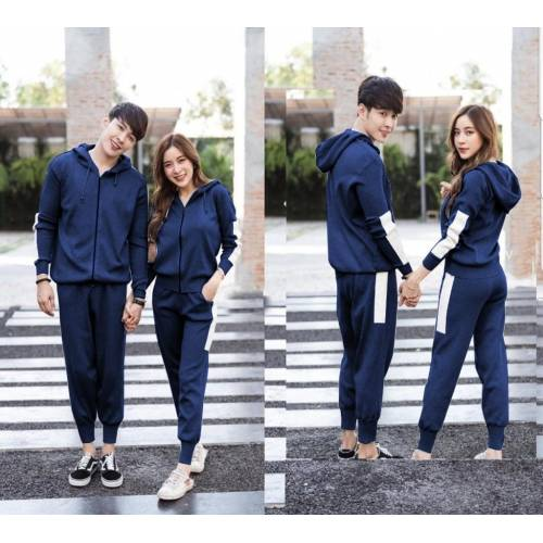 St Basic Couple Navy