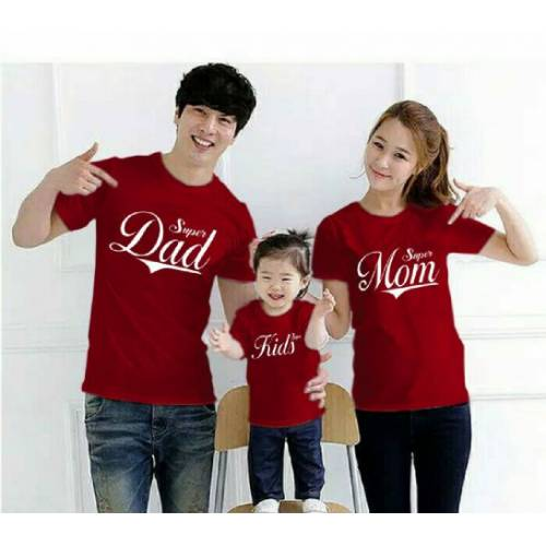 Cp Family Super Dad Maroon