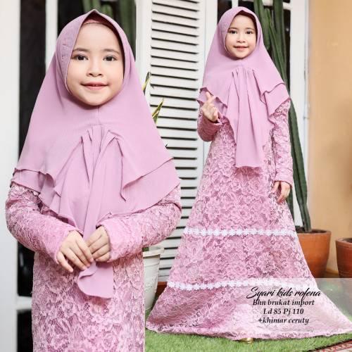 Syari Kids Rofena Purple