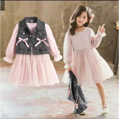 Dress Rompi 587 black