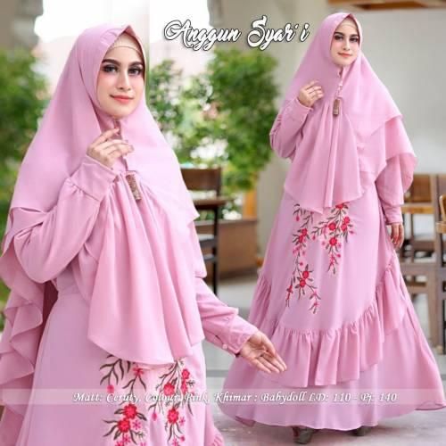 Syari Anggun Pink