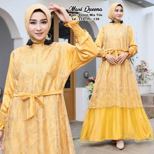 Maxi Queena Yellow