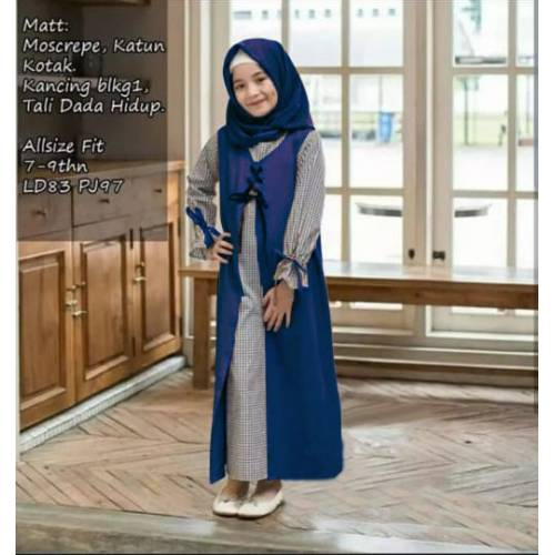 MAXI FATEEN KID NAVY