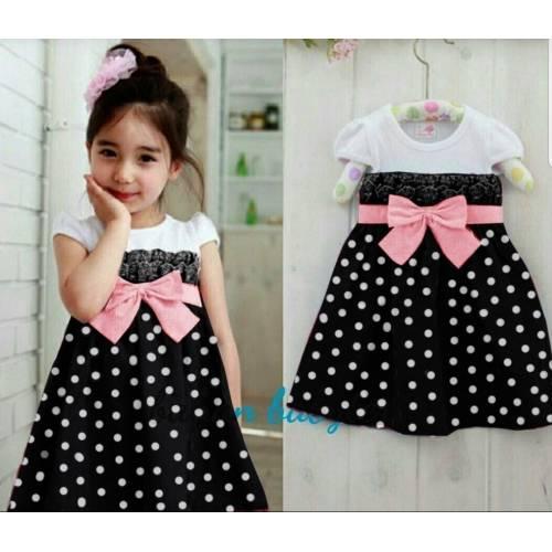 dress Pingkan kids black