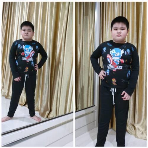 St.kids Hero Hitam