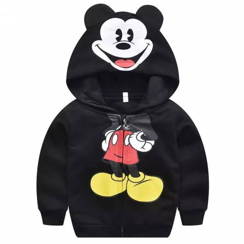 jaket mickey kid black