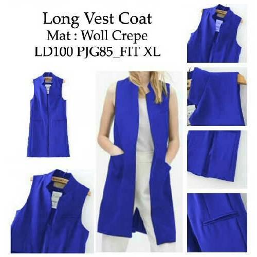 long vest coat electrik