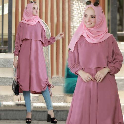 Tunik Diora Dusty Pink