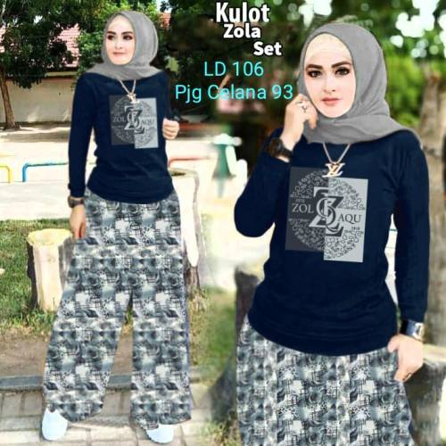 Set Zola Flower Navy