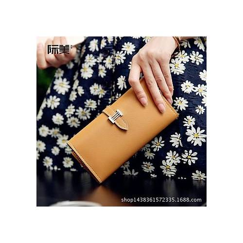 Dompet Tiffany Import Multifungsi Light Brown