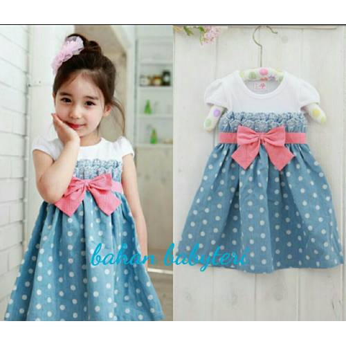 dress Pingkan kids blue..