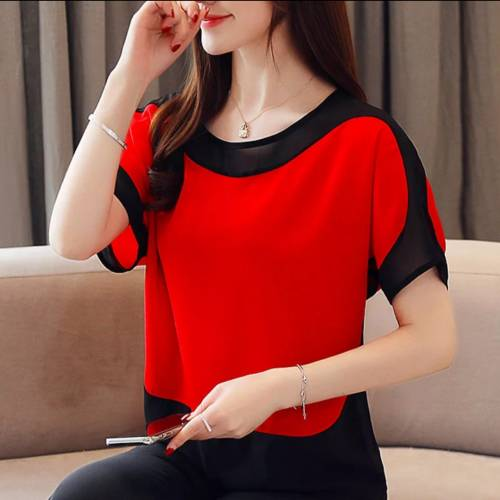Blouse SS 515 red
