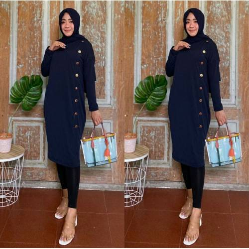 Tunik Coin Navy