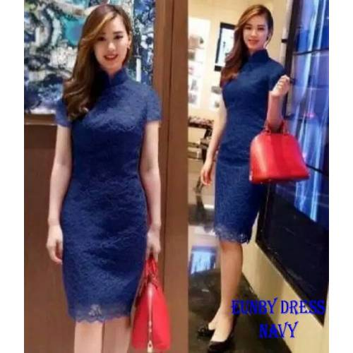 DRESS EUNBI NAVY