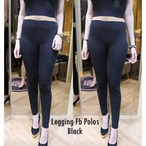 Legging Fb Polos Black