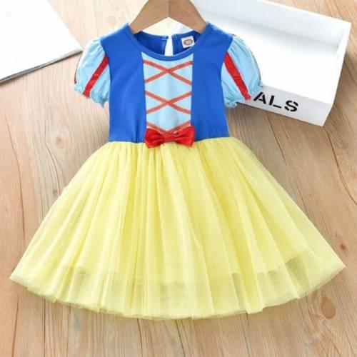 dress SNOWY kids Yellow