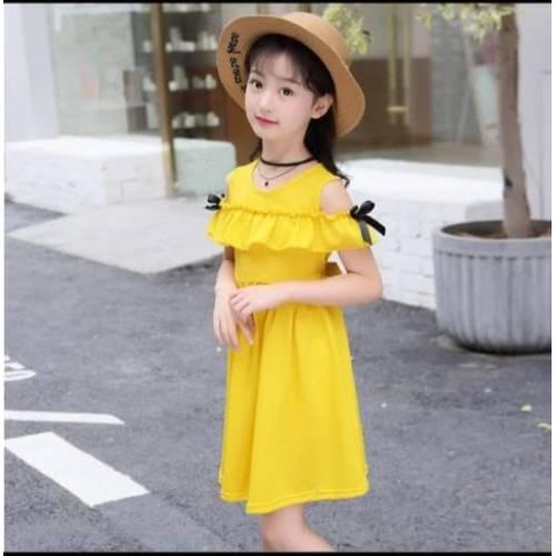 dress kid yellow585