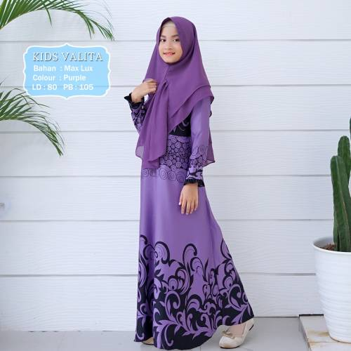 Syari Kids Valita Purple