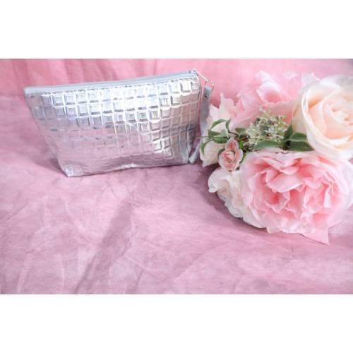 Square Bag Small silver