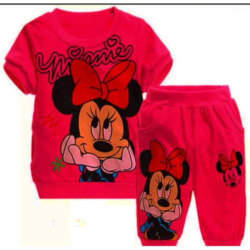 St.kids Minnie kasual red