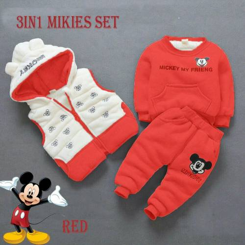 3IN Mikies set red