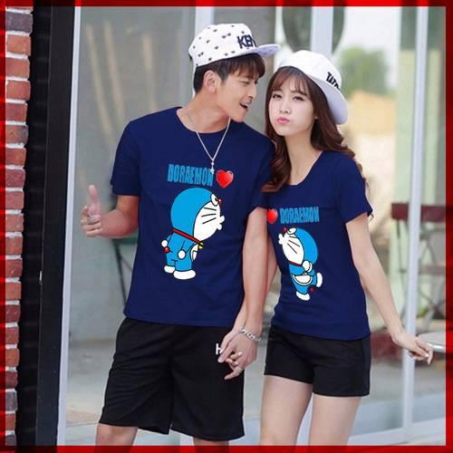 Cp T-shirt Doraemon Navy