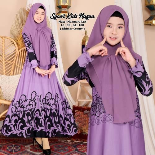 Syari Kids Nazua Purple