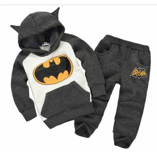batman kid dark grey
