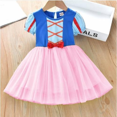 dress SNOWY kids pink