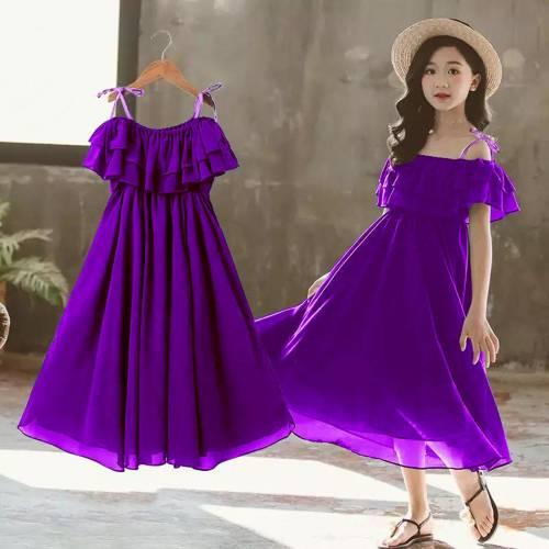 dress evie kid purple