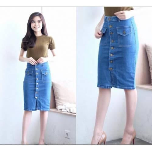 Rok Jeans R0830