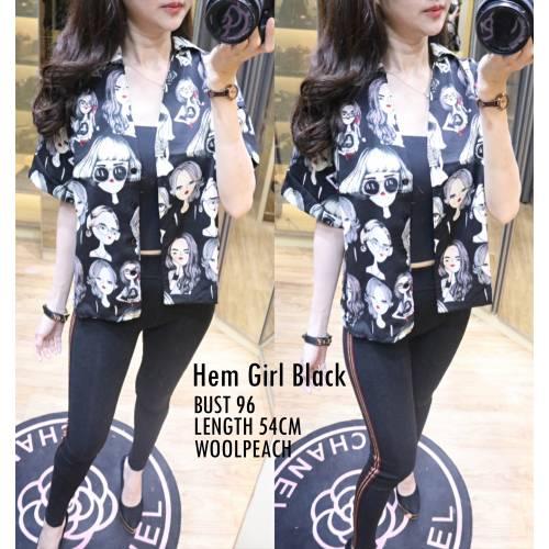 Hem Girl Black