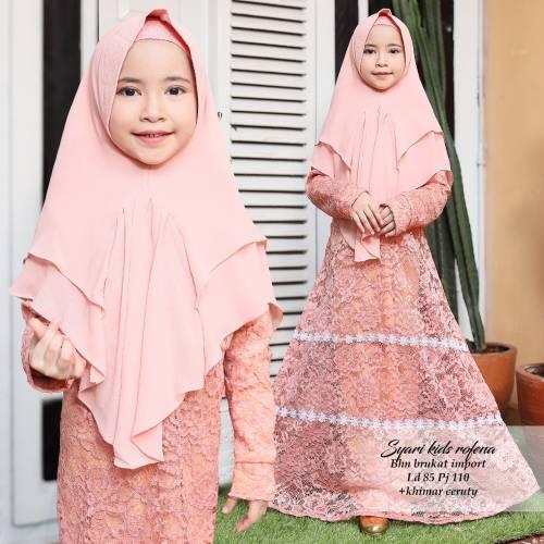 Syari Kids Rofena Peach