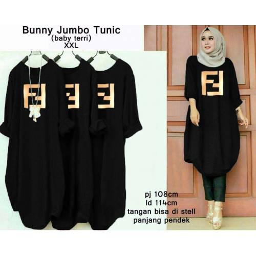 Tunic bunny black