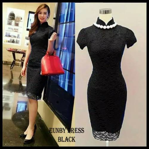 DRESS EUNBI HITAM