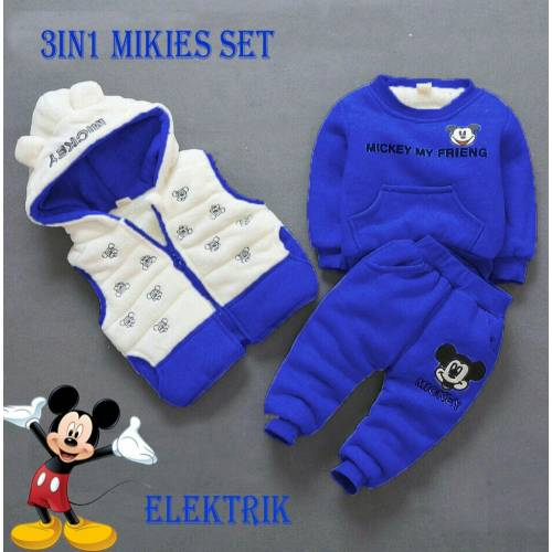 3IN Mikies set elektrik