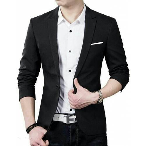 blazer hugo black
