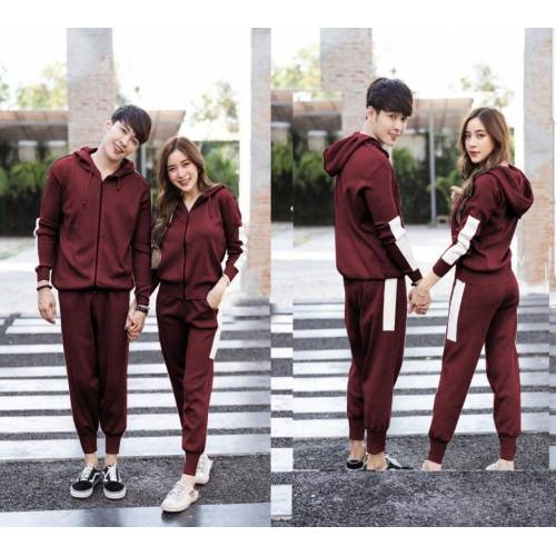 St Basic Couple Maroon