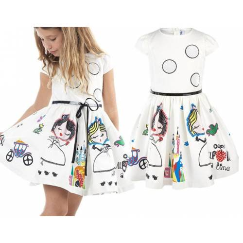 Kids ID dress white