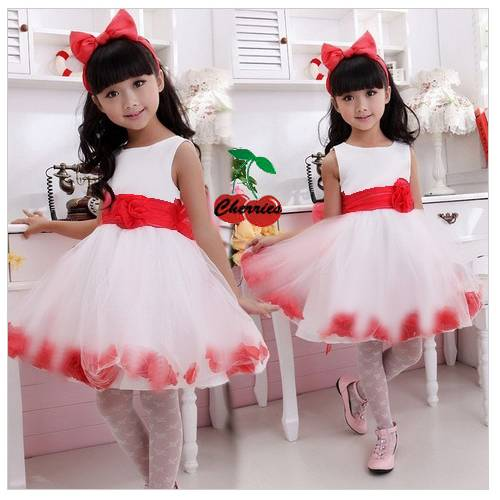 Фото платье цветок на девочку