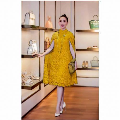Dress Martha yellow